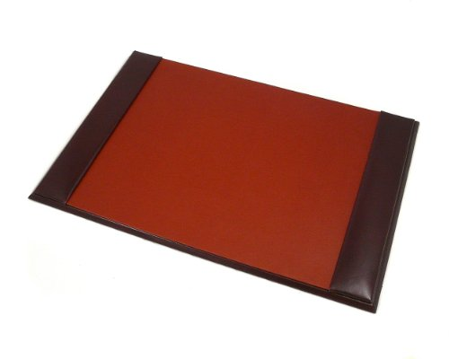 Sage Brown Genuine Leather Bridle Brown Medium Desk Blotter