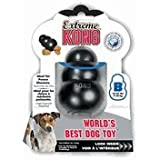 KONG Extreme Dog Pet Toy Dental Chew (2 Pack), Large