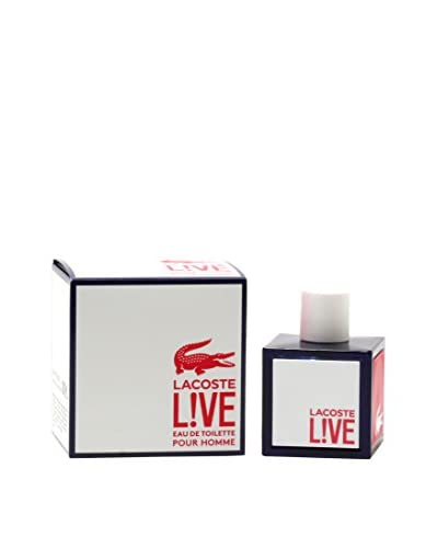 Lacoste Men's Lacoste Live Eau de Toilette Spray, 3.4 fl. oz.