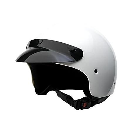 Bottari Moto 64408 Casque Trek, Blanc, Taille : L