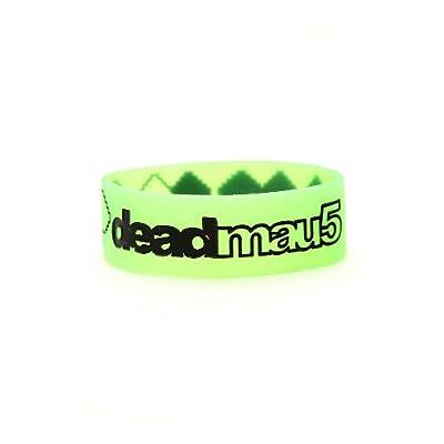 Amazon.com: Deadmau5 Green Pixel Rubber Bracelet: Jewelry