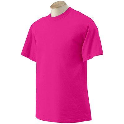 Gildan - T-Shirt Ultra - Übergrößen bis 5XL / Safety Pink, XL XL,Safety Pink