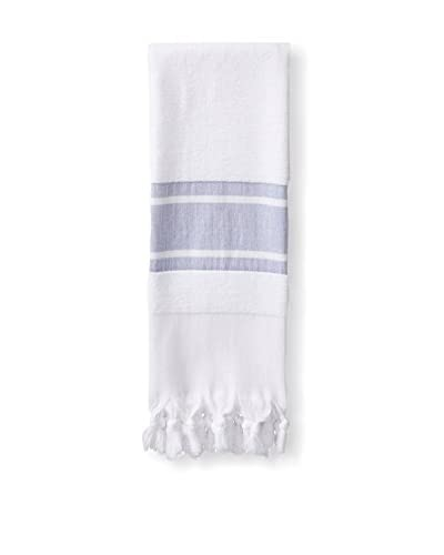 Nine Space Soft Terry Turkish Fouta Hand Towel, Blue