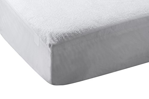 Abstract Waterproof Terry Top Bed Bug Mattress Protector (33 X 75 (Toddler Bed))