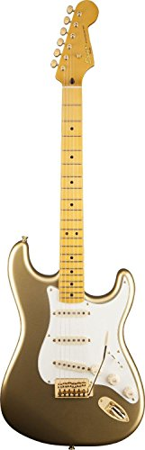 squier-60th-anniversary-classic-vibe-strat-aztec-gold-solid-body-electric-guitar
