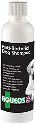 Aqueos Anti-Bacterial/Anti-Itch Dog Shampoo