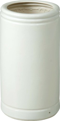 Fuji trade Shigaraki wind made of porcelain umbrella stand FN-12 white 68434