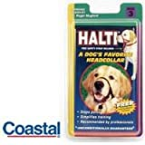 HALTI Black Headcollar for Dogs ... Size 3