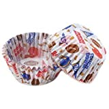 Wilton Standard Baking Cups: Football, 50/Pkg.