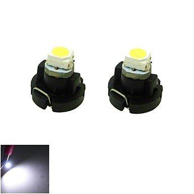 Zclt3 Led 0.2W 1X3528 Smd White Light Car Dash Board Cluster Gauges Instrument Bulb Lamp(Dc 12V , 2-Pack)