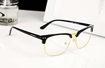 Rimless Geek Glasses : image unavailable image not available for color sorry this ...