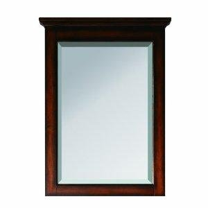Avanity Tropica-M24-AB Tropica Mirror Antique Brown, 24 Inches