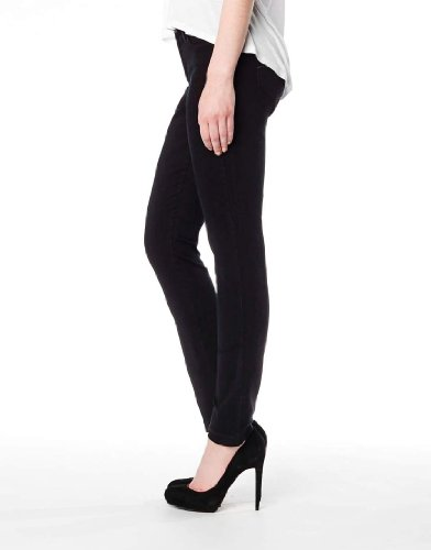 Second Yoga Jeans Women's Highrise Skinny Ankle In Black 31 x 33