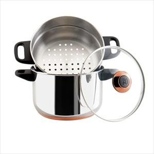 Paula Deen Signature Stainless Steel 3-Quart Stack and Steamer