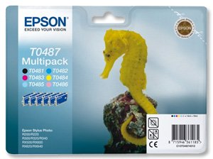 Epson Multipack 6-colours T0487: C13T04874010 (C13T04874010)