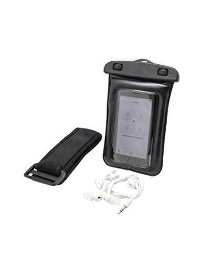 Unotec Waterproof Case voor smartphones met een hoofdtelefoon