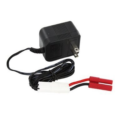 51C812 51C8Wall Charger with Banana Connector SPARE PART -FOR Exceed RC Forza/Hyper Speed 1/10 Battery Buggy or all battery rc car