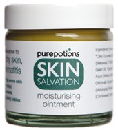 Skin Salvation Natural Dry Skin Ointment Also Suitable for Those Prone to Allergies Eczema and Psoriasis 120ml