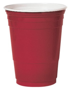 SOLO P16R Red 16-Ounce Plastic Party Cold Cups (Case of 1000)