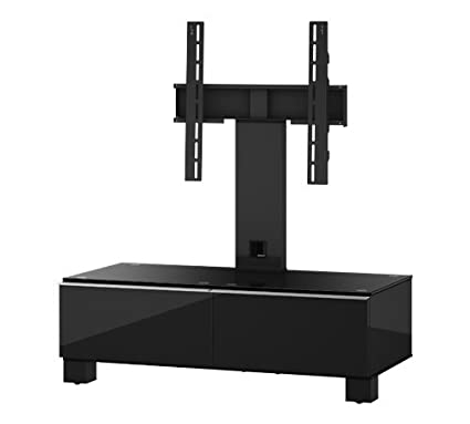 "Sonorous MD 8095-B-HBLK-BLK TV-Furniture for 40"" TV"