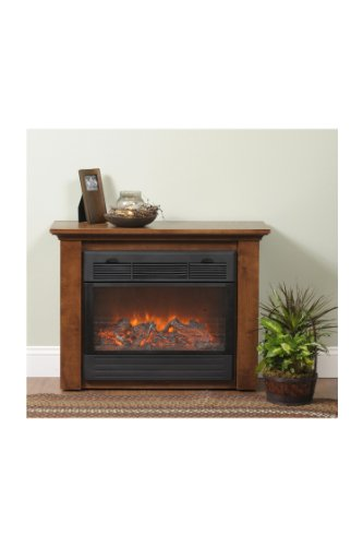 Sarah Electric Fireplace Finish: Maple/Maple picture B003E1CZY6.jpg