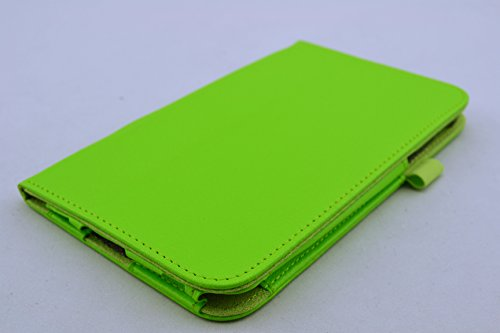 Leather Case + Screen Protector + Stylus + Free Charging Cable for Samsung Galaxy Tab 3 7.0 (7