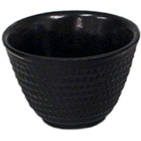 Black Cast Iron Tea Cup 4 piece Set