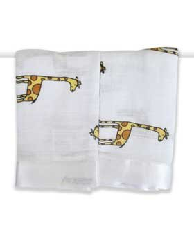 Aden & Anais Issie Security Blanket Set Duke Giraffe