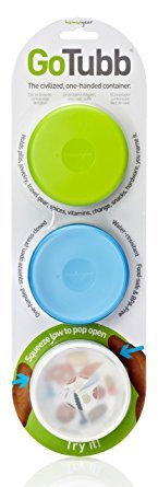 humangear-gotubb-small-3-pack-containers-05oz-clear-green-blue-pack-of-3