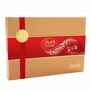 Lindt Lindor Milk Chocolate Truffles Gift Box,