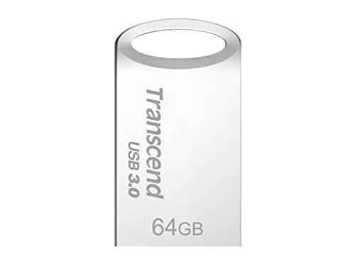 Transcend USB 3.0 USBメモリ アクセサリーシリーズ710 64GB シルバー 無期限保証 TS64GJF710S