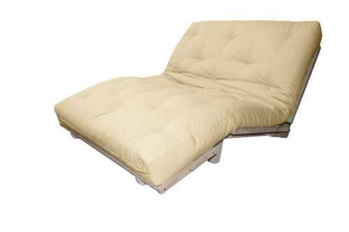 Check Out This Epic Furnishings Houston Mission Style Convertible Futon Lounger, Twin, Natural