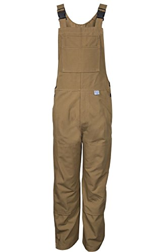 National Safety Apparel BIB6DCM34X34 Deluxe Unlined Bib Overall, 34