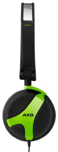 AKG K 518 LE Limited Edition Folding Headphones - Green
