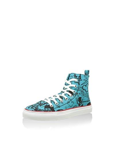 Dsquared2 Zapatillas abotinadas Azul Claro