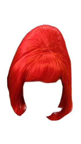 Beehive RED 50s 60s Halloween WIG 07B Cosplay