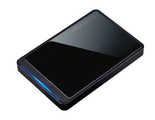 BUFFALO ポータブルハードディスク 500GB HD-PCT500U2-BKJ