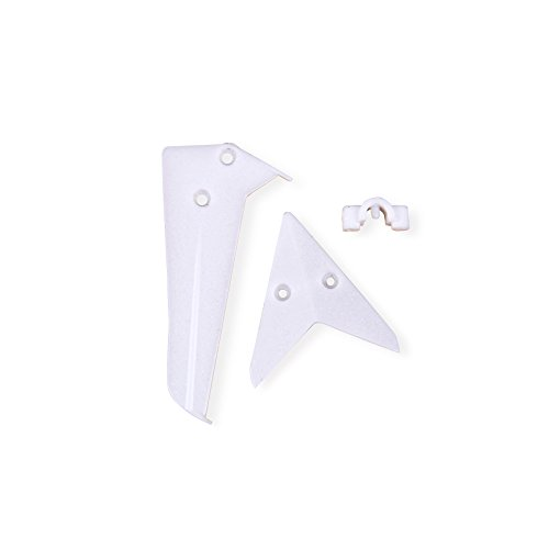 Syma Tail Fin for Syma S5 Helicopter, White - 1
