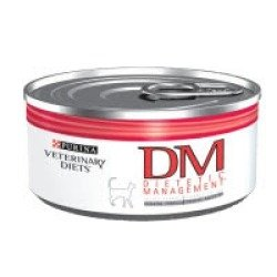 Purina Veterinary Diets Feline DM Dietetic Management Canned Cat Food 24 5.5-oz cans