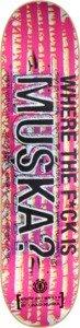 "Element Chad Muska Featherlight Where Skateboard Deck - 7.75"" x 31.25"""