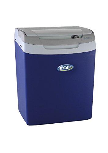 EZetil E32 M Frigo portatile termoelettrico 12/230V, controllo manuale, blu/blu chiaro