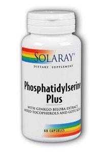 Solaray Phosphatidylserine Plus Supplement, 100 Mg, 60 Count