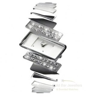 Seksy 4158.37 Ladies Electra Swarovski Crystal Set Bracelet Watch