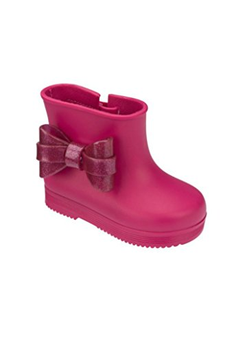 Mini Melissa Little Girls Bow Rubber Rain Boot (Toddler Size)