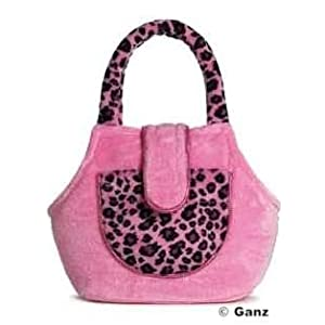 Webkinz Pet Carrier - Pink Leopard