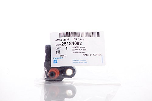 Manifold Absolute Pressure Sensor MAP for Chevy Chevrolet Optra Design Part: 25184082 (Sensor Map Optra compare prices)