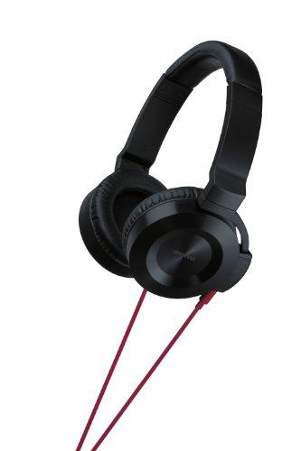 Onkyo Es-Fc300(R) On-Ear Headphones, Red