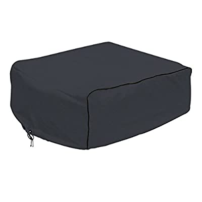 Classic Accessories 80-233-180401-00 Black Overdrive AC Cover (For Carrier Air V)