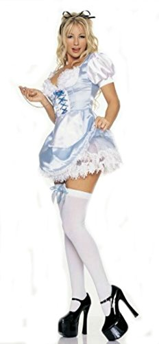 Sexy Deluxe Alice Costume Medium 8-10