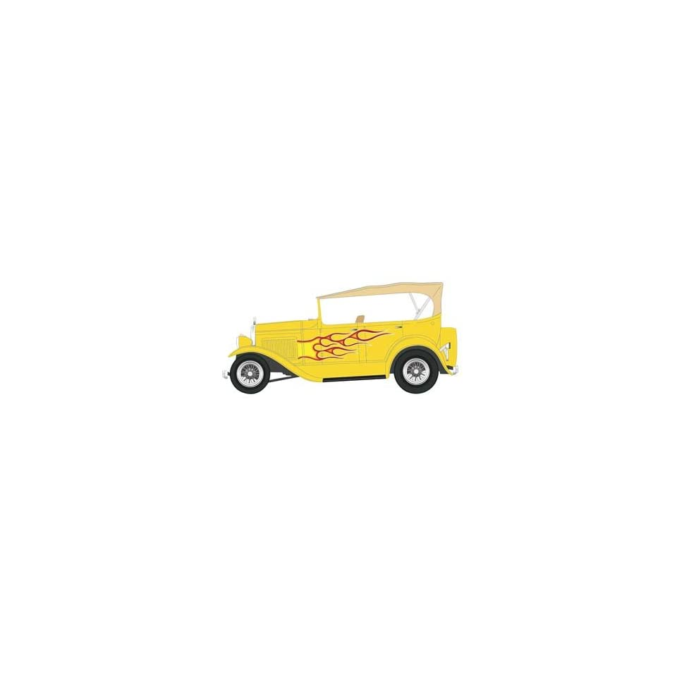 Ford Model A Touring Street Rod (Plastic Model Vehicle) Toys & Games